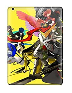 5003694K88975560 Snap-on Persona 4 Video Game Case Cover Skin Compatible With Ipad Air