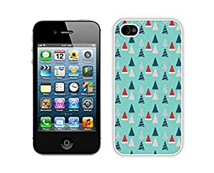 Personalization Christmas tree White iPhone 4 4S Case 14