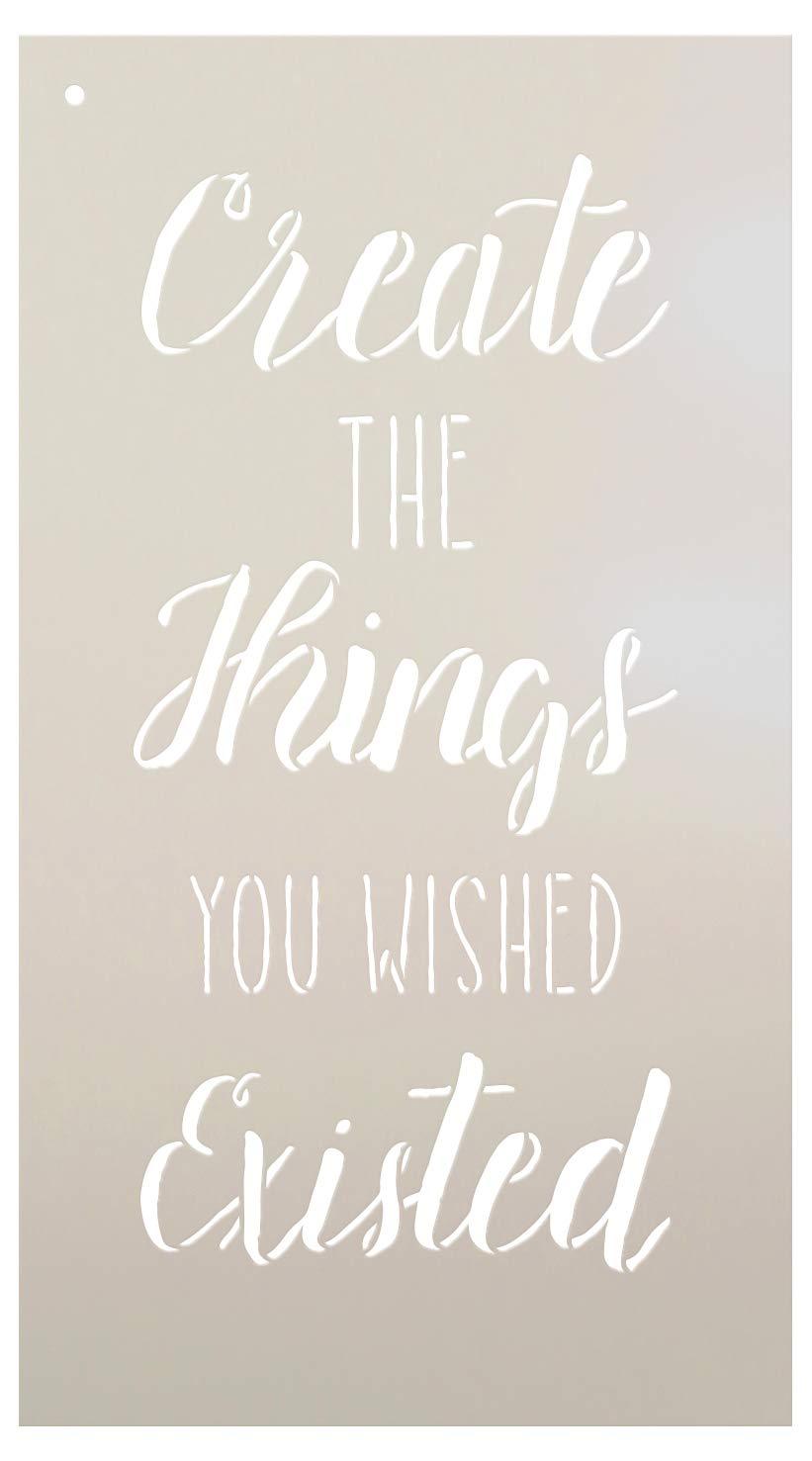 作成The Things You Wish Existed – Wordステンシル – 12