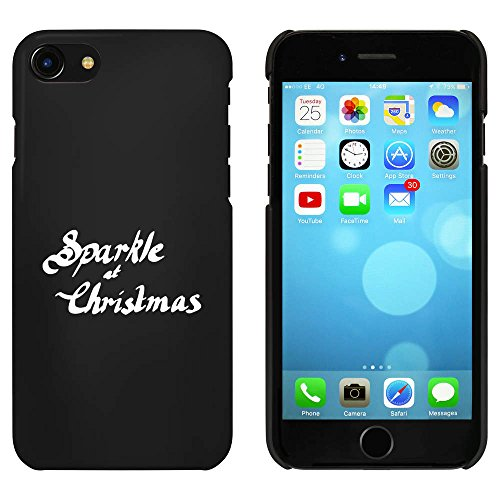 Schwarz 'Sparkle At Christmas' Hülle für iPhone 7 (MC00075533)