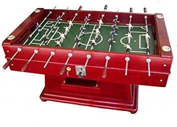 Recreativos Euromatic FUTBOLIN Modelo Catalan: Amazon.es: Juguetes y juegos