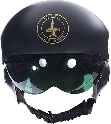 کلاه ایمنی خلبانی جت خلبان مردانه تازگی لوکس مردان