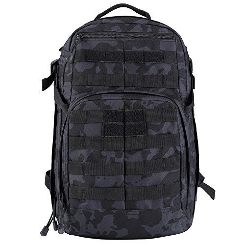 TPG Tactical Assault Daypack (複数のカラーオプション) & Free Bonus Tac Linkカラビナ入り  Night Ops Multicam B076YG5BBD