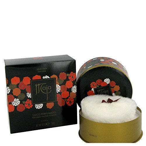 New Item MAJA MAJA DUSTING POWDER 5.0 OZ WITH PUFF MAJA/MAJA DUSTING POWDER WITH PUFF 5.0 OZ (W)