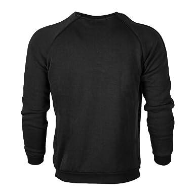 Zarupeng Herren Langarmpullover SAMT Gefüttert Dicken Einfarbig Basic Pullover  Herbst Winter Casual Rundhals Sweatshirt Jumper Shirt  Amazon.de  Bekleidung f6fdb74051