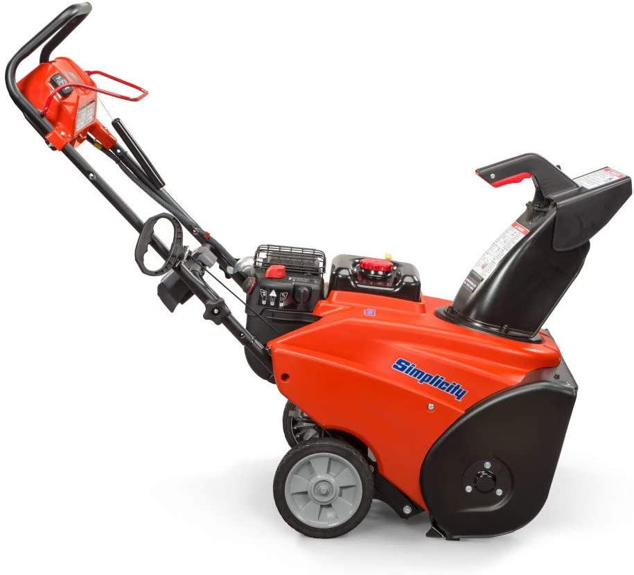 simplicity single stage snow blower reviews