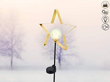 ❄ Solarleuchte Schneemann ❄ ✔ Ein /& Ausschalter ✔ solarbetrieben ✔ Lichtsensor