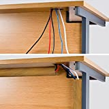 D-Line TV Cord Cover Wood