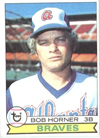 Amazoncom 1979 Topps Baseball Card 586 Bob Horner Mint