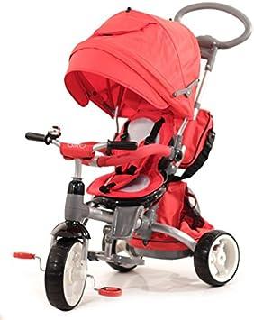 Baby 's Clan triciclo/cochecito evolutif 6en 1Rojo