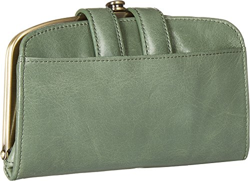 Leather Wallet Halo Compact Moss Vintage Hobo Womens xnHwaZ