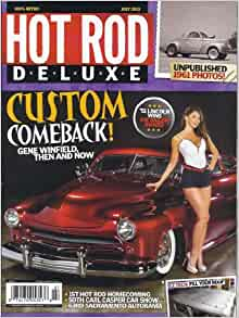 hot rod deluxe july 2013 custom comeback dave wallace books. Black Bedroom Furniture Sets. Home Design Ideas