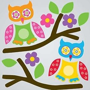 GelGems Flirty Owls Small Bag Gel Clings
