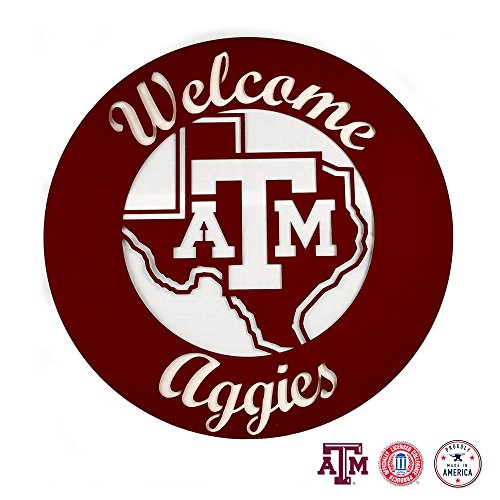 (Gameday Ironworks Texas A&M Aggies Steel Wall Sign)