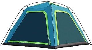 LWLPAI Tenda A Cupola Piccola con Altezza Totale, 100% Impermeabile Tenda da Campeggio per Famiglie con Telo Cucito, 3 A 4 Persone Mantent