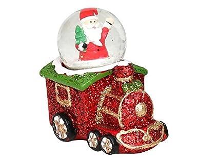 finest selection 39a34 16ac6 Hermosa Bola de Neve, Base di locomotiva con Babbo Natale ...