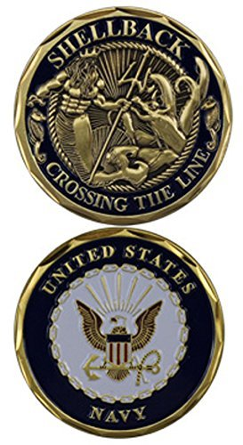 United-States-Navy-Shellback-Challenge-Coin-Eagle-Crest-3097