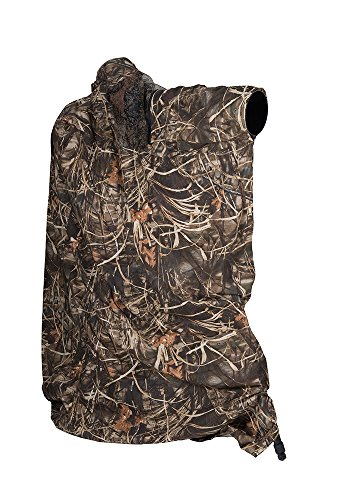 LensCoat LensHide Photography Blind Realtree Max4 camo camera tripod cover by LensCoat