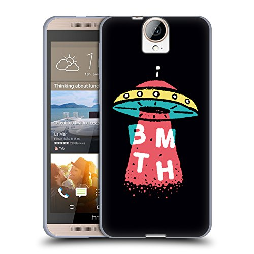 Official Bring Me The Horizon UFO Key Art Soft Gel Case for HTC One E9+ / E9 plus
