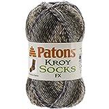 Patons Kroy Socks FX Yarn, Camo Colors