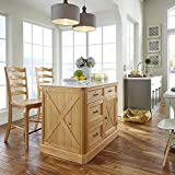 Home Styles 5524-948 Country Lodge Kitchen Island and Stools