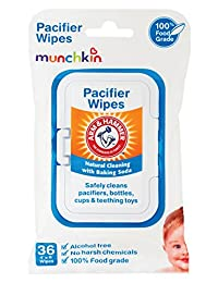 Munchkin 36 Pack Arm and Hammer Pacifier Wipes, White BOBEBE Online Baby Store From New York to Miami and Los Angeles
