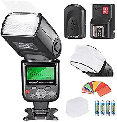 Neewer Pro i-TTLFlash Deluxe - Kit para cámara réflex Digital ...