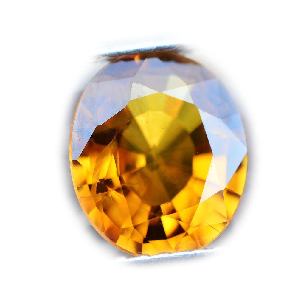 1.95ct Natural Oval Yellow Sapphire Thailand #B