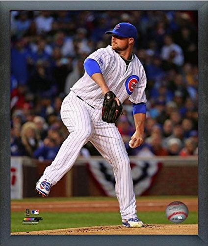(Jon Lester Chicago Cubs 2015 MLB Action Photo (Size: 17