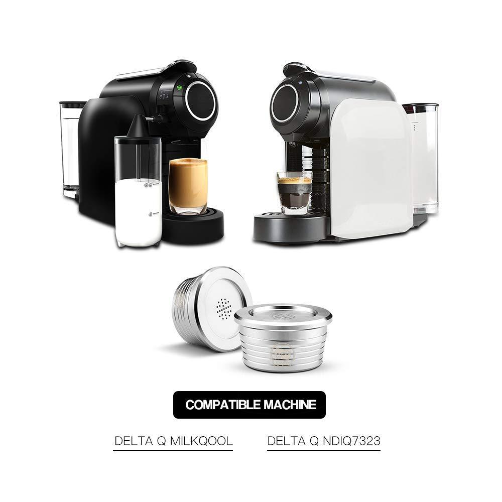 Cápsulas de café recargables i Cafilas de acero inoxidable ...