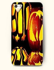 SevenArc iPhone 5 5s Case - Halloween 31 October The Shadow Of Pumpkin Lantern