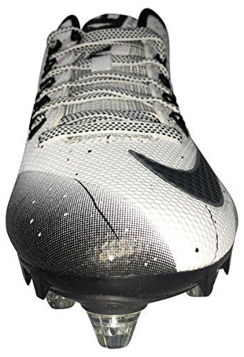 Nike Mens Alfa Pro 2 Låga Fotbolls Klotsar Vit Svart 10 Oss Vit / Svart