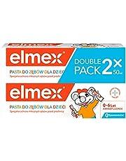 Elmex Kids Pasta do zębów dla dzieci z aminofluorkiem 0-6 lat 2x50 ml