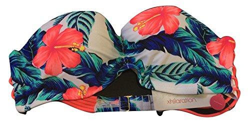 Xhilaration Women's Floral Mix&Match 1 piece Push up Bikini Top/Swim Top (Medium)
