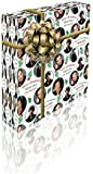 Benedict Cumberbatch Personalised Christmas Gift Wrap With 2 Tags - ADD A NAME!