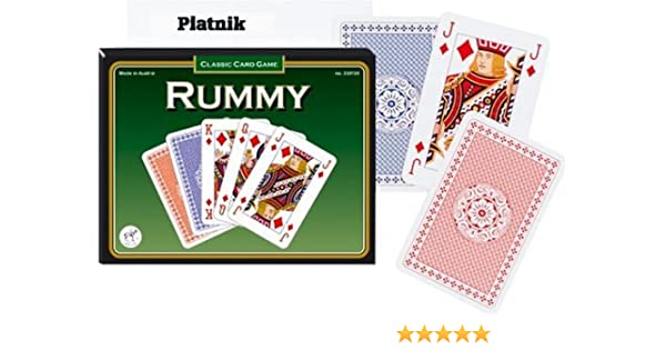 RUMMY PARTIE DE CARTES (VERSION ANGLAISE): Amazon.es: Juguetes y juegos