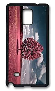 MOKSHOP Adorable Landscape Art Hard Case Protective Shell Cell Phone Cover For Samsung Galaxy Note 4 - PCB
