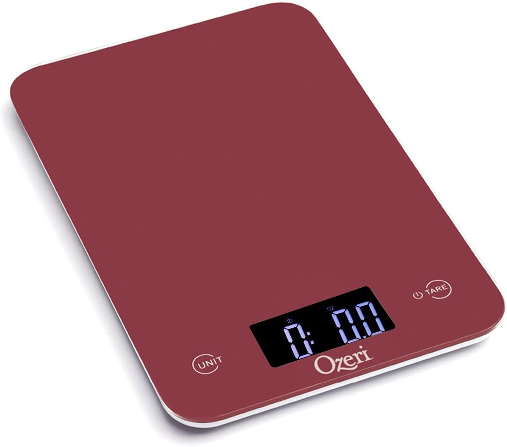 Red Food Scale