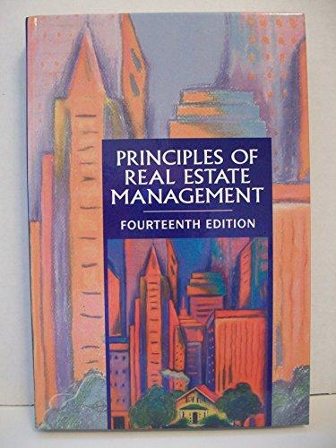 Principles of Real Estate Management