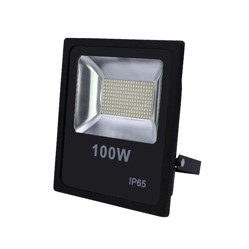HG® 100W Blanco frío Foco proyector LED IP65 Lámpara Exterior ...