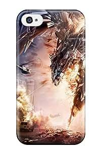 Richard V. Leslie's Shop New Style 1578378K45895440 Hot Fashion Design Case Cover For Iphone 4/4s Protective Case (transformers 4 Artwork)