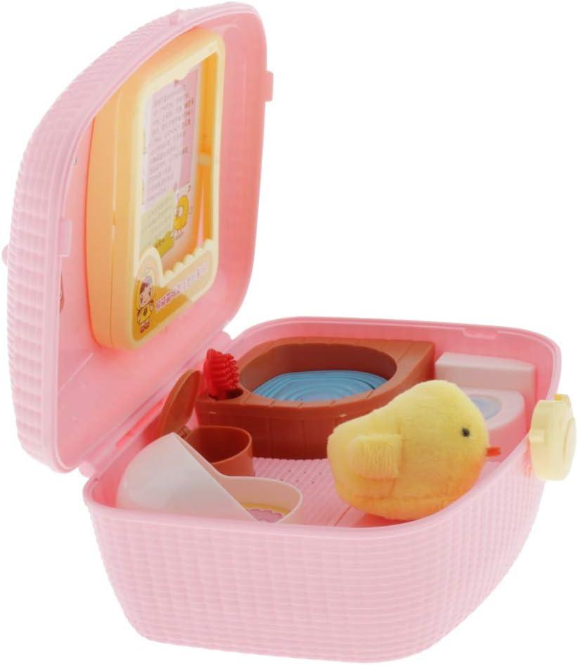 perfeclan Juguetes para Niños en Miniatura para el Cuidado de Mascotas - Polluelo