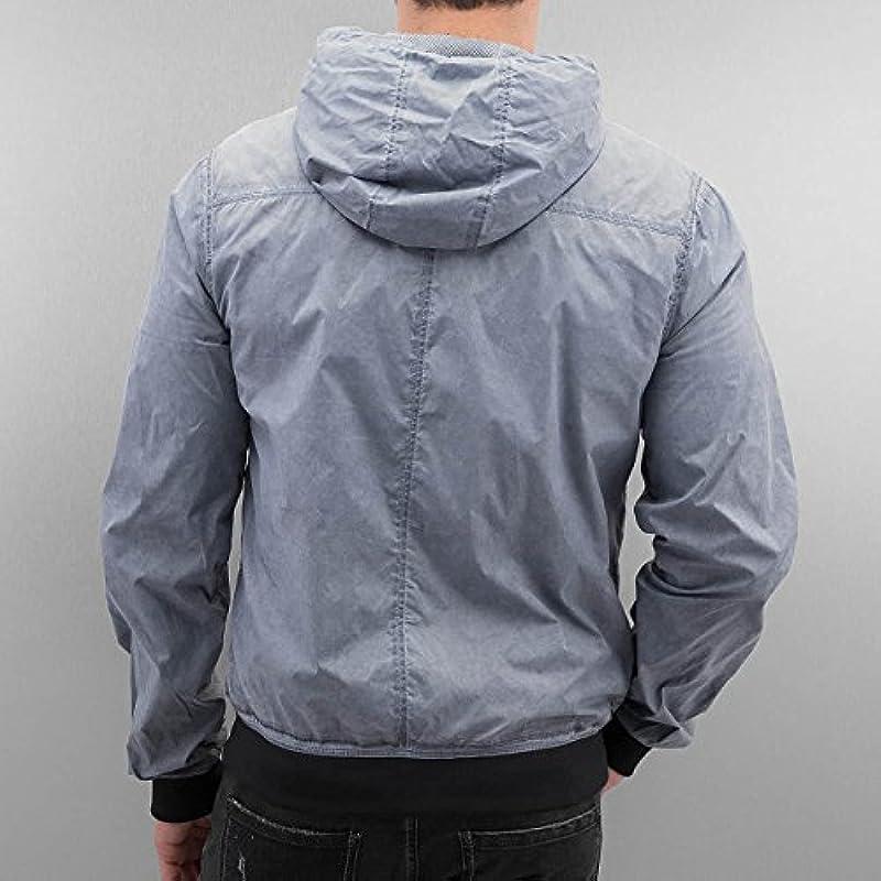 petrol Industries męski kurtka z kapturem - s niebieski: Odzież