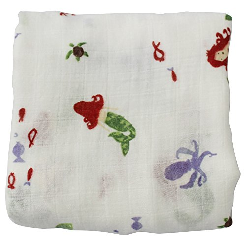 Muslin Swaddle Blanket Girls LifeTree product image