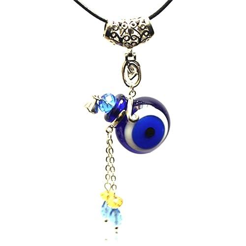 11fe9d6b2 Amazon.com: RagBear Evil Eye Charm Necklace Pendant Jewelry Meaning  Christian A: Jewelry