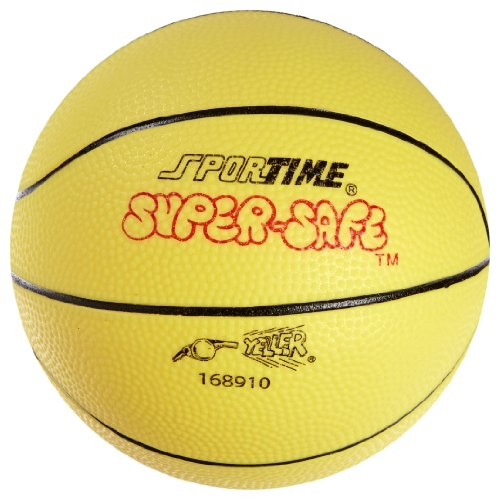 Mini Vinyl Basketball - Sportime Super-Safe Junior Basketball, 7 Inches