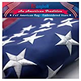 Best American Flag 3x5 Outdoors - RamboN American Flag 3x5 ft. Durable Longest Lasting Review