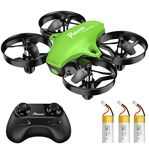 Potensic A20 Mini Drone for Kids, Remote Control Quadcopter with, Auto Hovering, Headless Mode, Easy to Fly, Toys for…