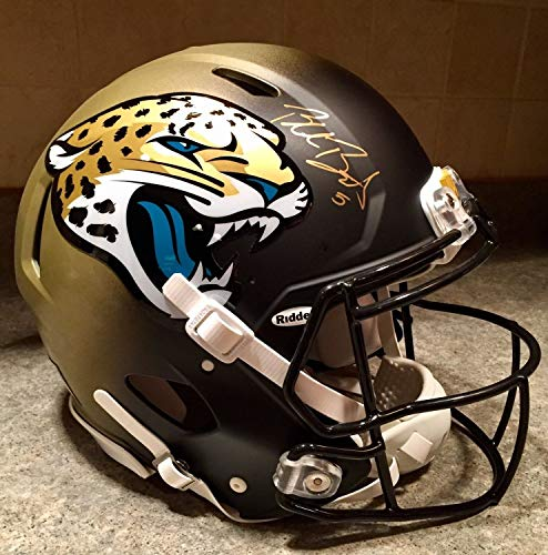Blake Bortles Autographed Signed Autograph Bca Game Issued Model Speed Pro Jaguars Jags NFL Helmet JSA Authentic from Sports Collectibles Online
