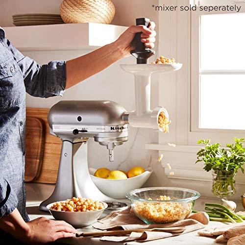 KitchenAid Optionales Zubehör, Fleischwolf 5FGA Aufsatz für Küchenmaschine Artisan